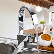5 Jahre Garantie Förderung Luxuxchrom Messing Küchenarmatur Einzigen Griff Loch Out-behälter-wannen-mischer-hahn
