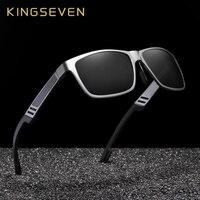 KINGSEVEN Brand New Polarized Sunglasses Men Unisex Metal Frame Driving  Glasses Women Retro Sun Glasses Gafas 268f319832