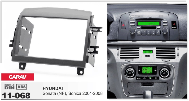 frame+Car DVD radio For hyundai sonata NF 2006 Android 6.0.1 WIFI 3G GPS Bluetooth USB Quad-core stereo head units tape recorder