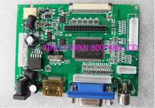 LCD Display TTL LVDS Controller Board HDMI VGA 2AV 50PIN 800*480 for AT090TN10 AT070TN90 92 94 Support Automatically VSTY2662-V1