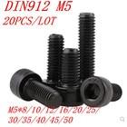 20PCS DIN912 Grade 1...