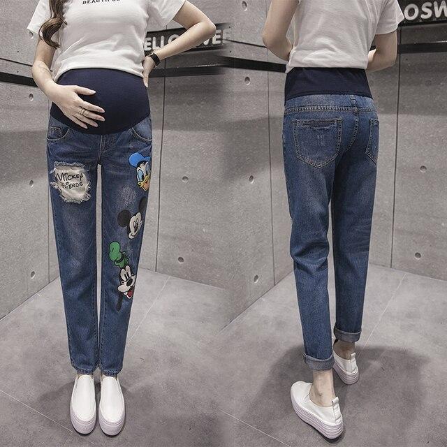 1ef515025e Ciążowa Dla W Spodnie Ubrania Odzież Kobiet Jeans Ciąży vSnqF7gW ...