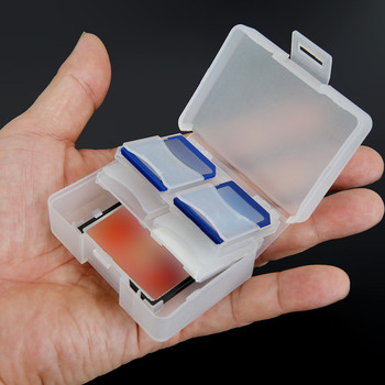 Etui na karty pamięci CF etui na karty SD uniwersalny pojemnik na karty pamięci SD MMC SDHC PRO DUO plastikowy pojemnik do przevhowywania pudełko na biżuterię #30 tanie i dobre opinie EPULA Ms-pro karty Ms-duo karty Micro SD Karta memory stick Karta sd Karta cf Karta md Karty sm Rs-karty mmc WHITE Plastic