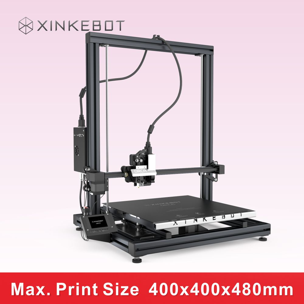 Optimized Impresora Xinkebot Orca2 Cygnus 3D Printer with 400 400 480mm High Printing Precision