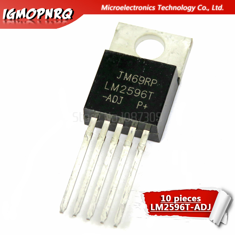 10pcs LM2576S-5.0 5V TO-263 IC Switching Step Down Voltage Regulator