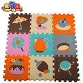 MEI QI COOL kids puzzle esteiras esteira do jogo do bebê jogo tapete em desenvolvimento das crianças rastejando tapetes bebês puzzle guarda-chuva pan espuma