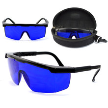 Mayitr Professional Golf Ball Finder Glasses Eye Protection Golf Accessories Blue Lenses Sport Glasses With Box(China)