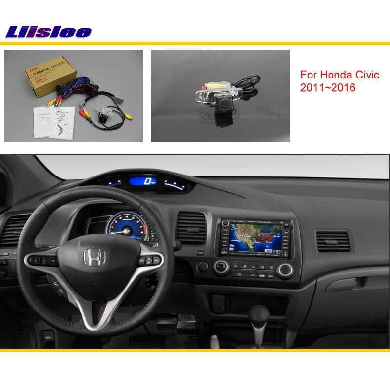 Voor Honda Civic (Fb) 2011 ~ 2016 Auto Achteruitrijcamera Reverse Camera Sets/Rca & Originele Screen Compatibel/Parking Camera