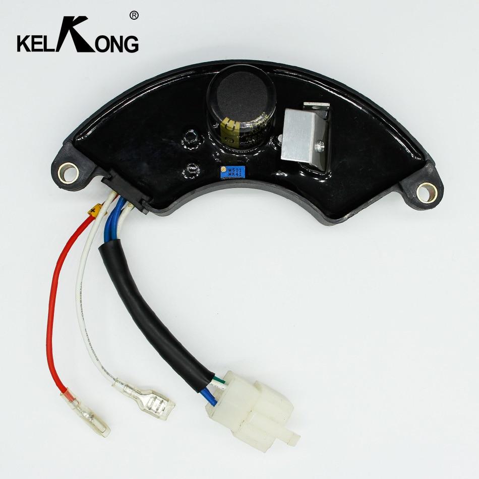 KELKONG AVR Generator Voltage Regulator Rectifier For 2KW 2.2KW 2.5KW 2.8KW 3KW 7KW AVR