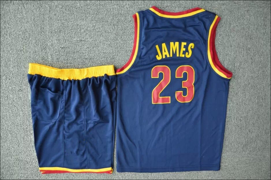 dfd6b180870 New 15 16 kids #23 LeBron James youth Jersey Team Yellow Red White blue  James Basketball Jersey 2015 Kids Rev 30 New Meterial-in Basketball Jerseys  from ...