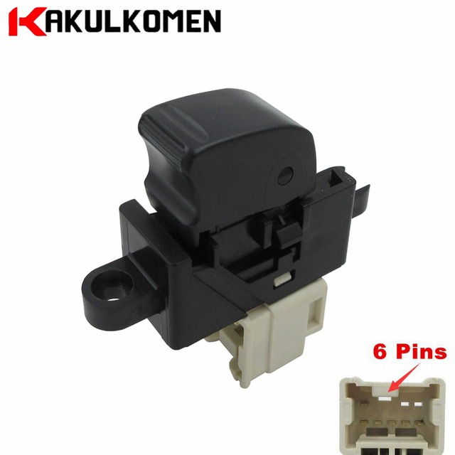 Front left electric power window regulator switch for for 2001 nissan sentra power window switch