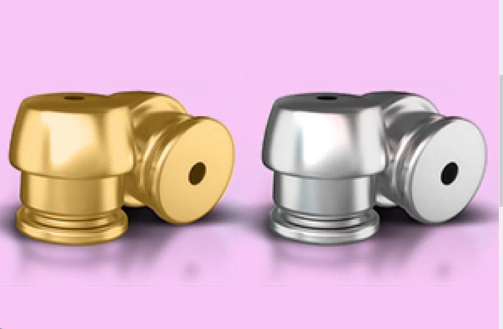 Brinco Costas de Captura inteligente Suporte Brinco Hipoalergênico Elevadores Fits All Pós Brincos Conjunto de 4 18 K Banhado A Ouro Esterlina prata