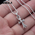 Vintage Cross pendant 100% 925 sterling silver gift necklace pendant women & men fashion jewelry Punk