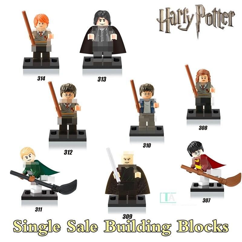 Harry Potter Hermione Half-Blood Prince Ron Lord Voldemort Figures Bricks Educational Building Blocks Kids Toys Xmas Gift X0121 дж к роулинг harry potter and the half blood prince