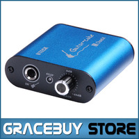 Uteck Guitar Cube ASIO USB Audio Interface DI Fit For Soft Guitar Rig JAMVOX AmpITube