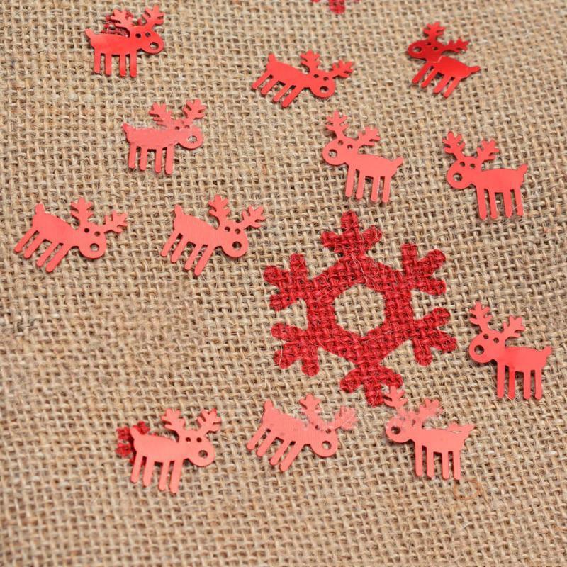 1 Pak Leuke Kerst Elanden Confetti Dier Herten Kerst Thema Birthday Party Tafel Confetti