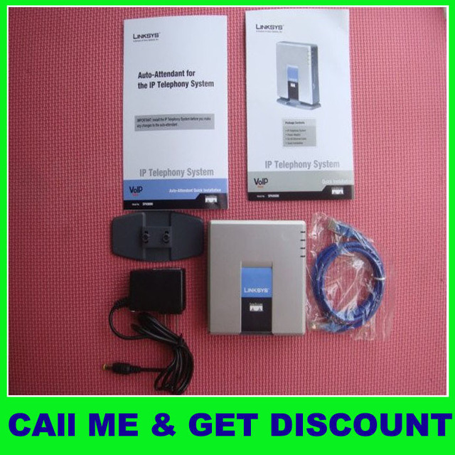 NEW Linksys  UNLOCK SPA9000 IP PBX Ver2 16 lines,2pcs/lot