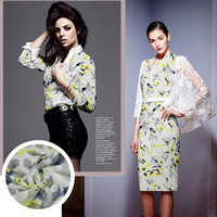 Yan To Literary Restoring Ancient Ways Is The Swallow Printed Silk Cotton Fabric Britain S Clothing