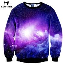 64876beaed9f2 Kenntrice Space HOODIE 3D impreso sudaderas hombres estrella Galaxy  Sudaderas hip hop pullover manga larga Sudadera