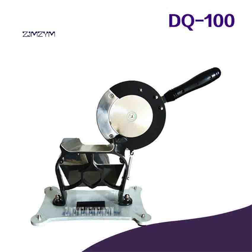 ZJMZYM New DQ-100 Adjustable Manual Slicer Medicine Knife Herb Ginseng and Other Slicing Cutter Machines 120 pieces/min 0.3-3mmZJMZYM New DQ-100 Adjustable Manual Slicer Medicine Knife Herb Ginseng and Other Slicing Cutter Machines 120 pieces/min 0.3-3mm