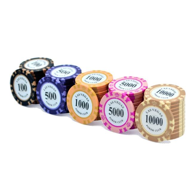 Clay Casino Chips