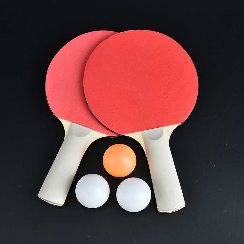 1 pair dual table tennis pingpong racket baby sports kids child sports toy
