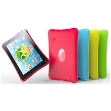 Бесплатная Доставка Дети Планшеты PC Wi-Fi Quad Core двойной Камера android-планшет для ребенка 8 ГБ Android 5.1 Водонепроницаемый