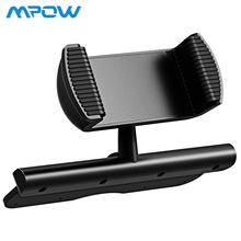 Mpow CD Slot Car Phone Spring Holder 360Degree Rotation Mobile Phone Mount Cradle For iPhone Samsung