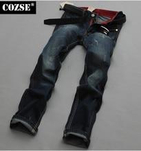 2015 New Modern Summer Men Slim Vintage All Match Denim Jeans Pants Trousers Hot Sale D3901