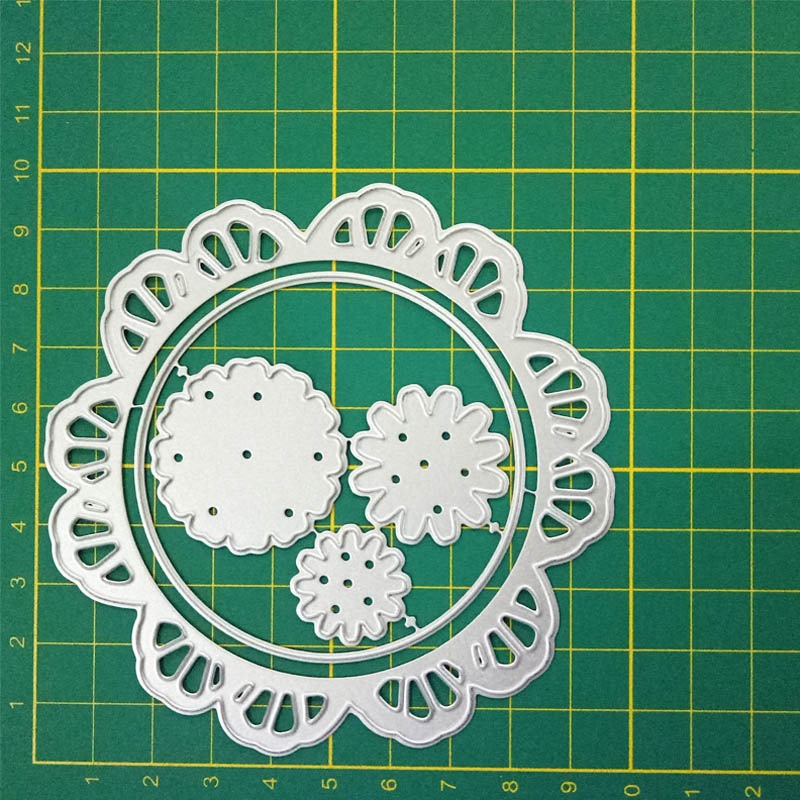 3D Flower Metal cutting dies cut die Shasta Daisy Scrapbook paper craft knife mould blade punch stencils dies festival card in Cutting Dies from Home Garden