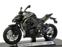 Welly 1:18 Kawasaki NINJA Z 1000R 2017 Diecast รถจักรยานยนต์