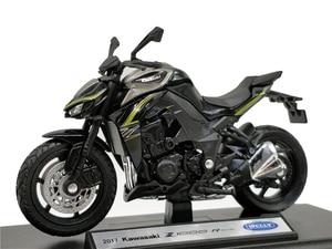 Image 1 - Welly 1:18 Kawasaki NINJA Z 1000R 2017 Diecast אופנוע