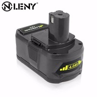 Onleny P108 RB18L40 RYOBI ONE Lithium Ion Rechargeable Battery 18V 4000mAh For Ryobi BID1821 BIW180 Replaces