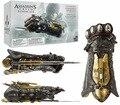 Assassins Creed Cosplay Armas Sindicato Guante con Hoja Oculta Avec Cojo Secretan Figura de Acción de Juguete Modelo de 40 cm KT1857