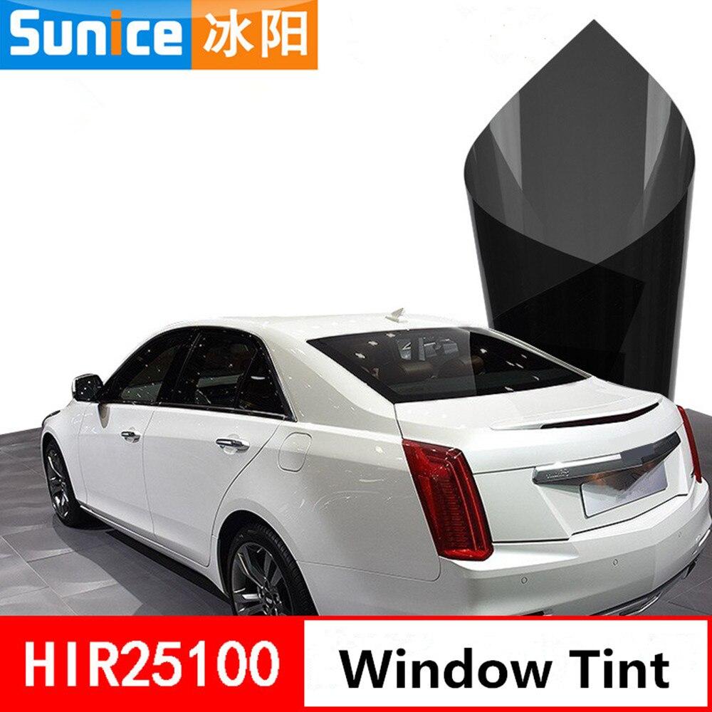 2mil Vlt 25% Nano Keramische Voertuig Auto-auto Venster Zelfklevende Stickers Hoge Kwaliteit Warmte Reductie Beschermen Privacy Window Tint
