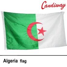 3*5feet Hanging Algeria Flag International Banner Algiers Office/Activity/parade/Festival/Home Decoration NN031