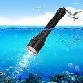 Бесплатная доставка T6 LED 2000 люмен Водонепроницаемый фонарик для подводного плавания + Перезаряжаемая батарея + зарядное устройство