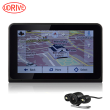 Udricare 7 inch GPS WiFi Android Car Truck GPS Navigation DVR Video Recorder Rear View Camera Allwinner Quad Core 16G GPS