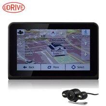 Udrive 7 pulgadas GPS WiFi Android GPS de Navegación Del Vehículo Del Carro Del Coche Video Recorder DVR de Visión Trasera Cámara de Allwinner Quad Core 16G GPS