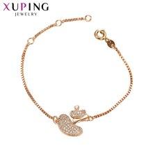 11.11 Offres Xuping Bijoux Bracelets Charme Style Nouveau Design Bracelets  pour Femmes Élégantes De Mode De Noël Cadeaux S2, 5,7.