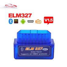 High Quality V1.5 Super MINI ELM327 Bluetooth ELM 327 Version 1.5 OBD2 / OBDII for Android Torque Car Code Scanner