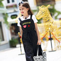 Girls Summer Dresses Kids Elegant Dress Kids Cartoon Red Lips Overalls Child Clothing Teens Age 56789 10 11 12 13 14T Years Old