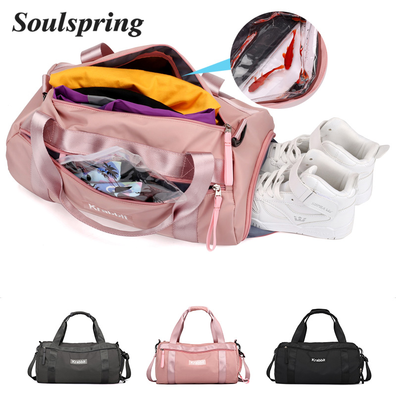 5298084dccd4 Detail Feedback Questions about 2018 New Hot Sports Bag Training Gym Bag  Men Woman Fitness Bags Durable Multifunction Handbag Outdoor Sporting Tote  Travel ...