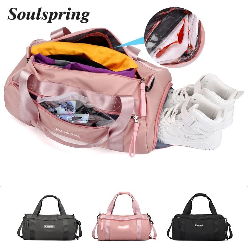 2018 New Hot Sports Bag Training Gym Bag Men Woman Fitness Bags Durable Multifunction Handbag Outdoor Sporting Tote Travel Bag 1