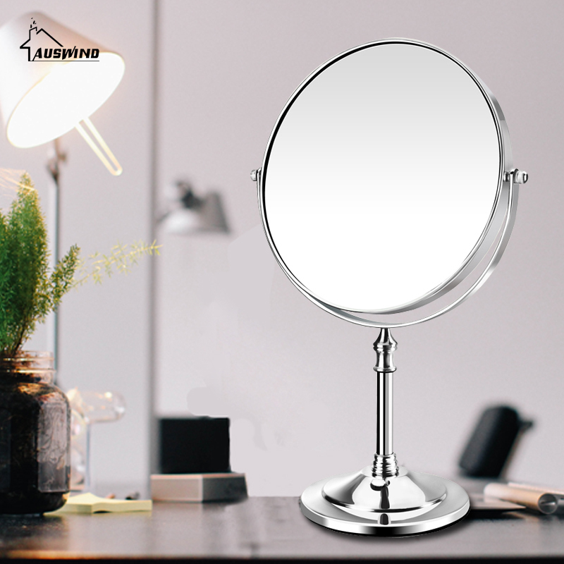 European Style New Arrival Makeup Mirror Professional Vanity Mirror Bathroom Accessories 180 Rotating Free Magnifier Sj13 декор lord vanity quinta mirabilia grigio 20x56