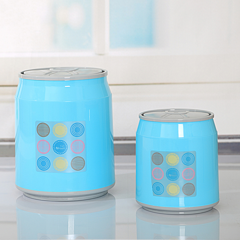 Portable Plastic Dustbin Trash Cans Mini Table Waste Container ...