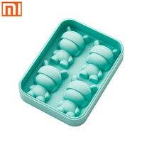 Original xiaomi mitu ice cube kreative hand-made food grade silikon hohen und niedrigen temperatur glatte release