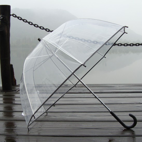 eight colors choice for princess umbrella arch umbrella mushroom umbrella backtack type apollo transparent umbrella
