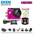 """Оригинал ЭКЕН H9/H9R Действий камеры Ultra HD 4 К/25fps Wi-Fi 2.0 """"170D подводный водонепроницаемая камера go pro Шлем Cam Спорт cam"""