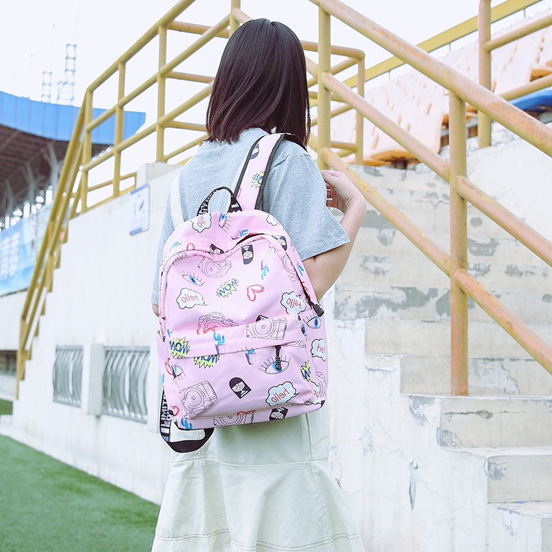 Female Backpack Women School Backpack for Teenage Girls Mochila Feminina Waterproof Nylon Bagpacks Travel Bags Casual Sac A Dos